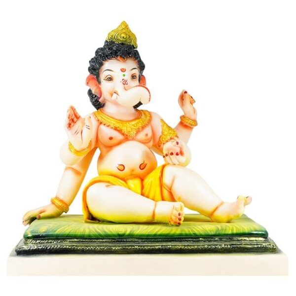 Bal Ganesh 20 Inch on Asana Shadu Murti